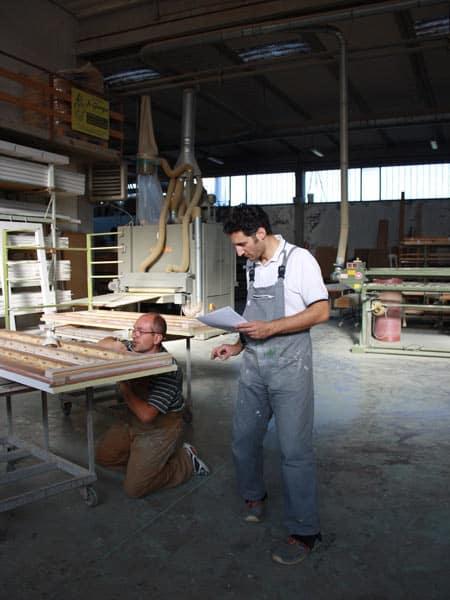 Produzione-finestre-in-legno-Forli
