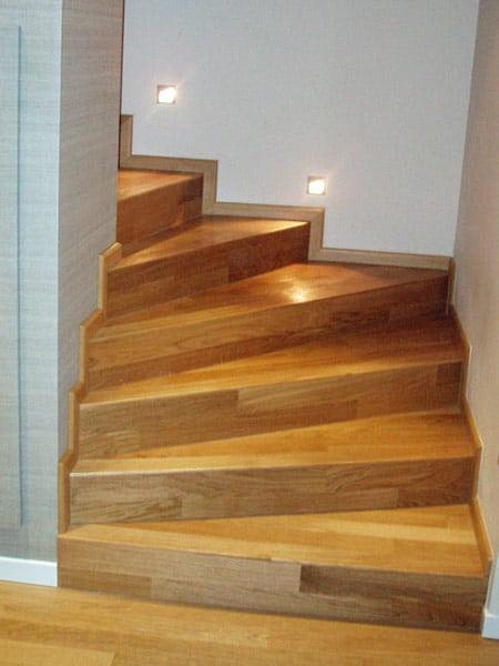 Rivestimenti per scale interne cesena ravenna preventivi soluzioni per rivestimento gradini - Rivestimento in legno per scale ...